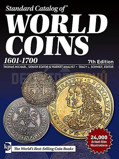 World Coins 1601-1700 - Detektory kovů