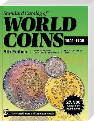 World Coins 1801-1900 - Detektory kovů