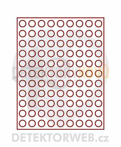 Kazeta na 99 mincí - průměr 20 mm 2550 - Detektory kovů