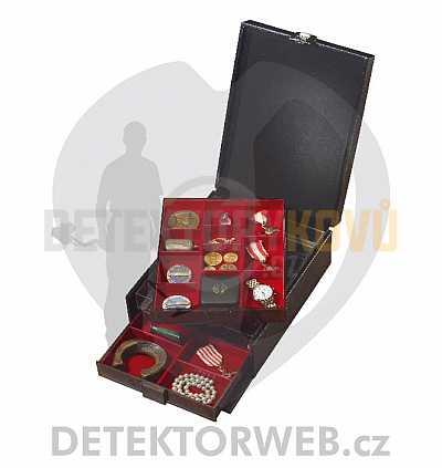 Přenosný box na mince Lindner COMPACT - Detektory kovů
