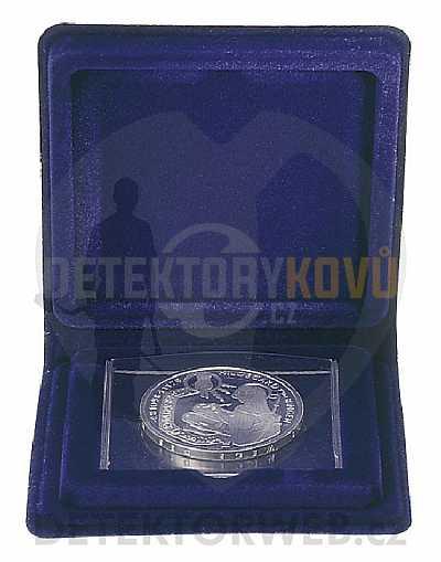 Kazeta na minci Lindner - Detektory kovů