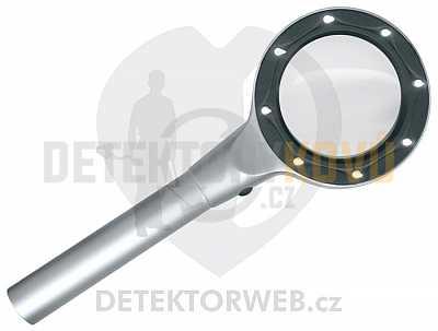 Lupa s LED osvětlením 7151 - Detektory kovů