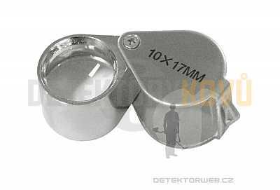 Skládací lupa Lindner 10x - Detektory kovů