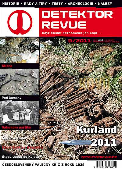 Detektor revue 03/2011 - Detektory kovů