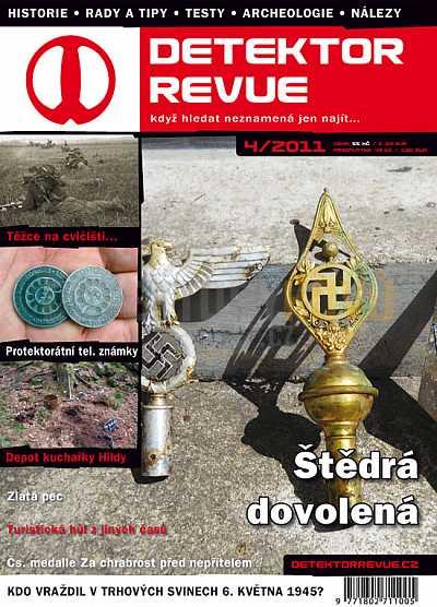 Detektor revue 2011/04 - Detektory kovů