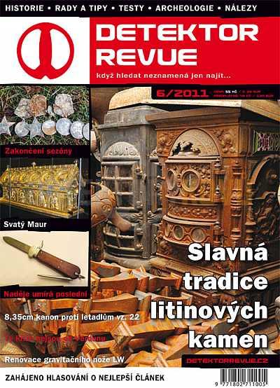 Detektor revue 2011/06 - Detektory kovů