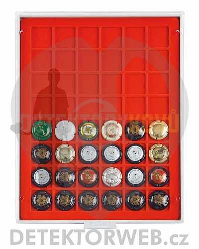 Kazeta na 48 mincí - průměr 30 mm 2148 - Detektory kovů