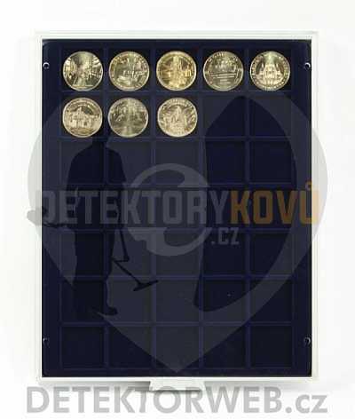 Kazeta na 35 mincí - průměr 36 mm 2135 - Detektory kovů