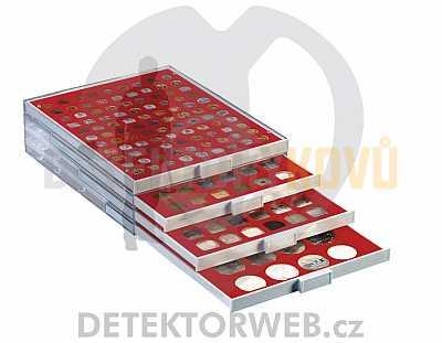 Kazeta na 24 mincí - průměr 42 mm 2124 - Detektory kovů
