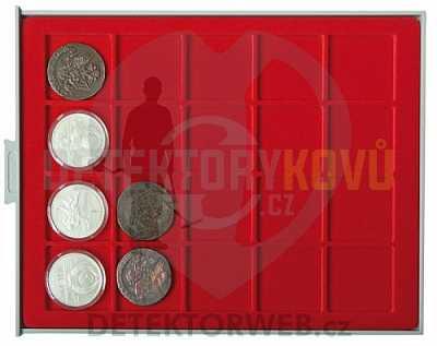 Kazeta na 20 mincí - průměr 47 mm 2120 - Detektory kovů
