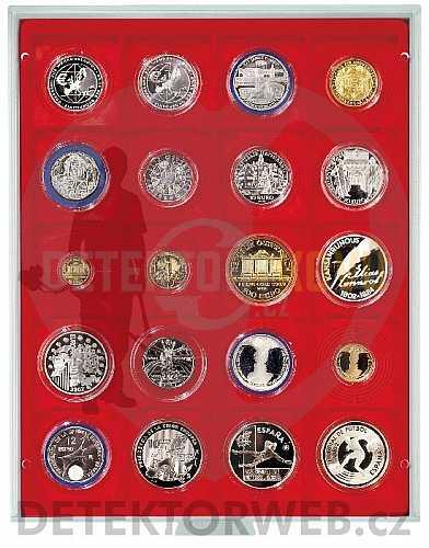 Kazeta na 20 mincí - průměr 51 mm 2221 - Detektory kovů