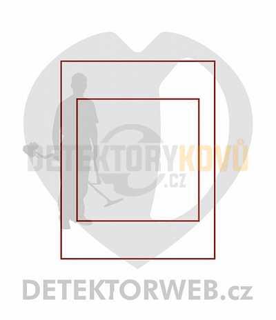 Kazeta na sadu mincí - rozměry 150x150 mm 2211 - Detektory kovů