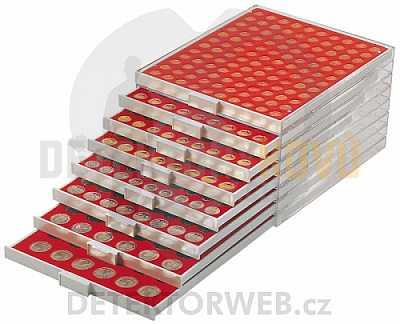 Kazeta na 88 mincí - průměr 21,5 mm 2510 - Detektory kovů