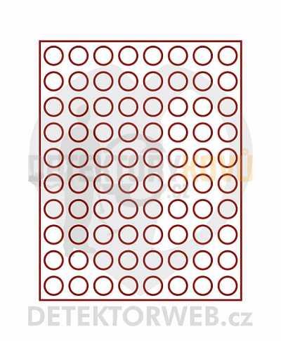 Kazeta na 80 mincí - průměr 22,25 mm 2580 - Detektory kovů