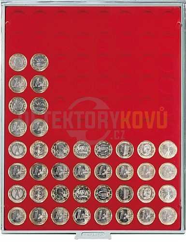 Kazeta na 80 mincí - průměr 23,5 mm 2108 - Detektory kovů