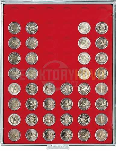 Kazeta na 54 mincí - průměr 25,75 mm 2754 - Detektory kovů