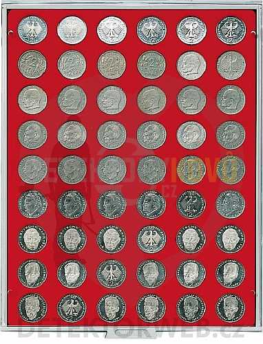 Kazeta na 54 mincí - průměr 26,75 mm 2109 - Detektory kovů
