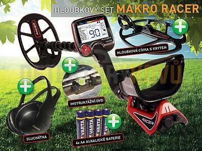 MAKRO RACER - hloubkový set - Detektory kovů