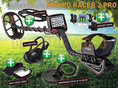 MAKRO RACER 2 PRO - Detektor kovů - Detektory kovů
