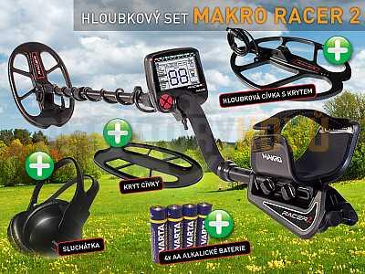 MAKRO RACER 2 - hloubkový set - Detektory kovů