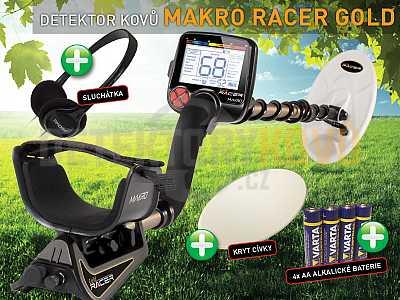 MAKRO RACER GOLD - Předváděcí - AKCE ! - Detektory kovů