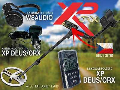 XP ORX HF 22 cm RC + bezdrátová sluchátka WSAUDIO - Detektory kovů