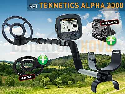 Teknetics Alpha 2000 SET - Detektory kovů