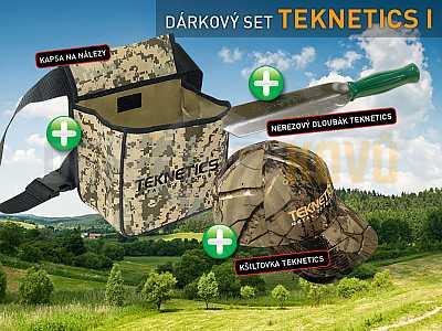TEKNETICS SET I - Detektory kovů