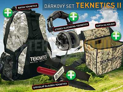 TEKNETICS SET 2 - Detektory kovů