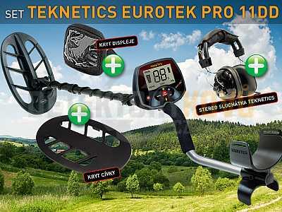 Teknetics EuroTek PRO 11DD SET - Detektory kovů