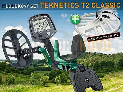 Teknetics T2 Classic - hloubkový set - Detektory kovů