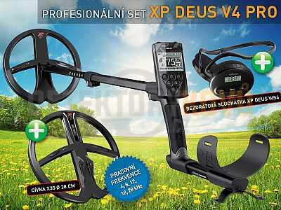XP Deus X35 V5.21 PRO SET - Detektory kovů