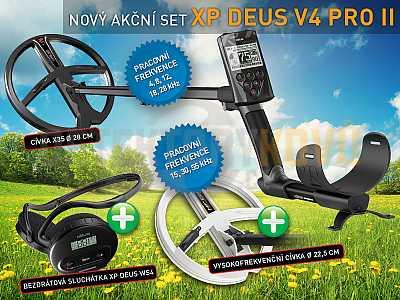 XP Deus X35 V5.21 PRO SET II - Detektory kovů