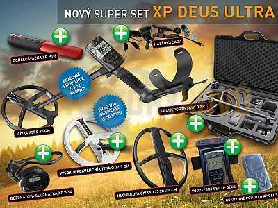 XP Deus X35 V5.21 ULTRA SET - Detektory kovů