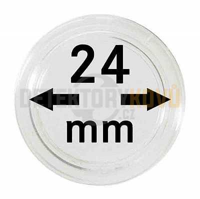 Kapsle na mince 24 mm - Detektory kovů
