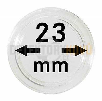 Kapsle na mince 23 mm - Detektory kovů