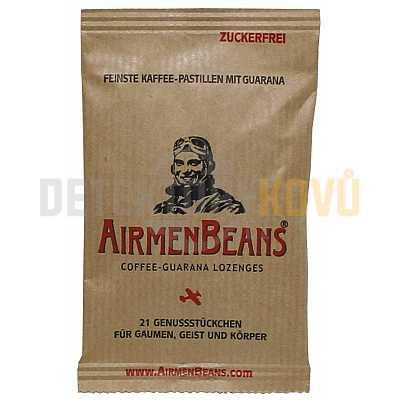 AirmenBeans pastilky, Coffee Guarana - 21 ks - Detektory kovů