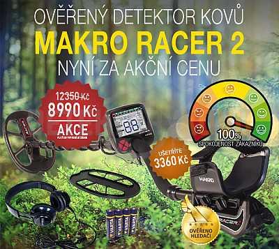 MAKRO RACER 2 - Detektor kovů - Detektory kovů