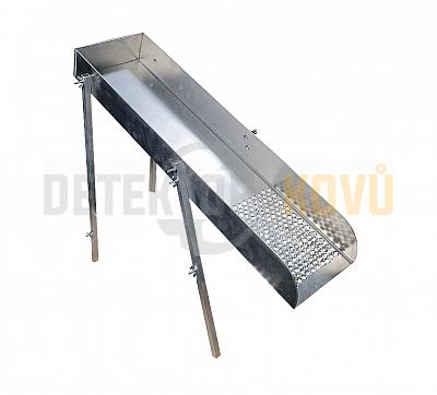Příprava na Mini High Banker pro splavy o šířce 15 cm - Detektory kovů