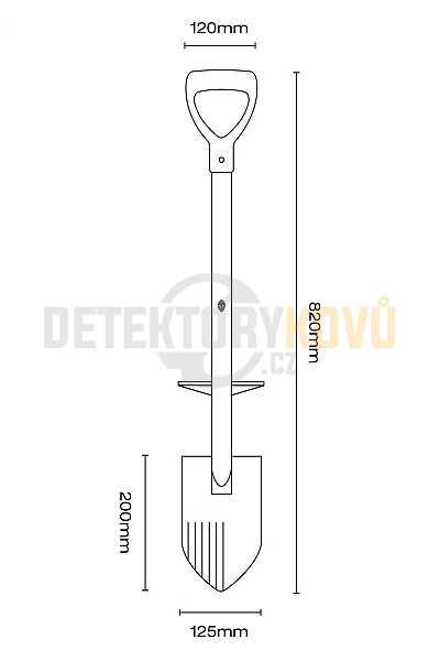 Black Ada SPARTAN - Detektory kovů