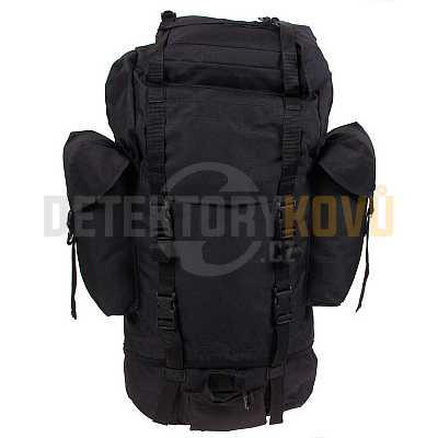Bojový batoh velký - černý - Detektory kovů