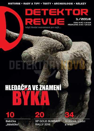 Detektor revue 2016/01 - Detektory kovů