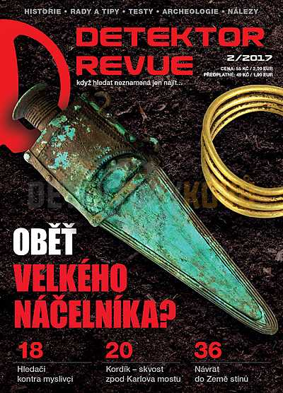 Detektor revue 2/2017 - Detektory kovů