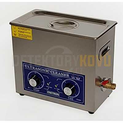 Ultrazvuková čistička ENETRON 6L - Detektory kovů