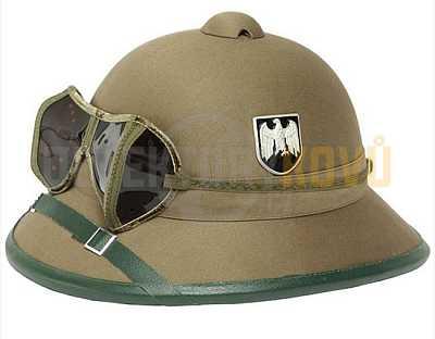 Helma WH tropická s brýlemi - písková - Detektory kovů