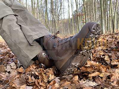 Bojové boty HAIX - Hight liability pro britskou armádu - Detektory kovů