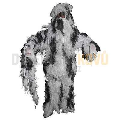 Maskovací komplet - Hejkal zimní - Detektory kovů