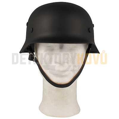 Helma Wehrmacht WWII, ocelová černá - Detektory kovů