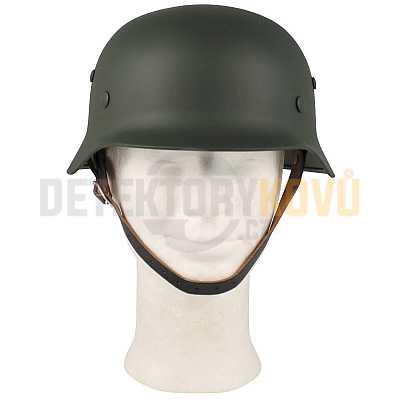 Helma Wehrmacht WWII, ocelová oliv - Detektory kovů