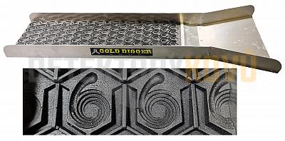 JL GoldDigger - splav na rýžování zlata - Černá - Detektory kovů